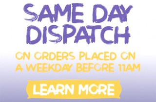 Free Shipping and Same Day Dispatch Orders