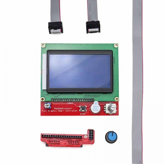 128x64 Graphic LCD Smart Controller for RAMPS 1.4