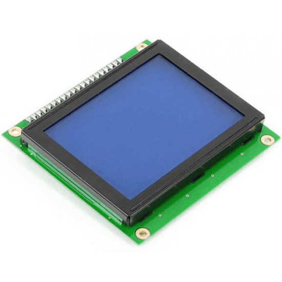 Graphic LCD Display 128x64 (Blue)
